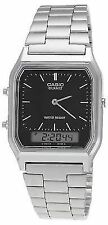 Casio Mens Aq-230a-1dmqyes Watch With Stainless Steel Strap