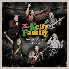 THE KELLY FAMILY - WE GOT LOVE-LIVE  2 CD NEW+