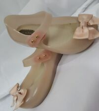 Mini Melissa Girl Toddler Size 8 Sweet Mary Jane Pale Pink