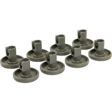 pkt 8 Dishwasher Lower Basket Wheels For Electrolux ESL63010 ESF4126 ESF4127