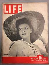 LIFE MAGAZINE MAY 19, 1941 ARMY FLOPPY HATS AUSTRALIA NAZIS WWII THE SAINT