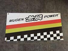 Mugen Racing banner sign shop garage jdm wheels wing body kit exhaust Super GT