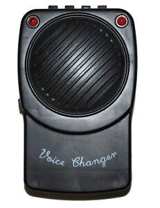 Cooler Stimmverzerrer 3 verschiedene Stimmen schwarz - Cod.305657
