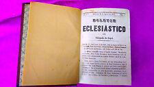 BOLETIN ECLESIASTICO DEL OBISPADO DE URGEL, 3 PRIMEROS AÑOS 1853-1855
