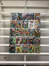 Justice League Dc 25 Lot Comic Book Comics Set Run Collection Box3