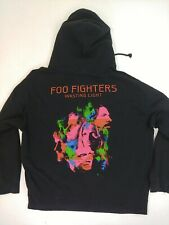 Foo Fighters Hoodie Hooded Sweatshirt Wasting Light 2011 Zip Up Size XL