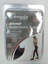 Champion Sport Xt4 Rhino Resistance Tubing Heavy Resistance - Maroon R4 40 Lbs
