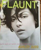 Flaunt Magazine Ashley Judd Ryan Reynolds  Andrew W.K. Spring 2002 #33
