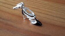 Thomas Sabo Silver Black Sexy Shoe Charm - 100% Genuine