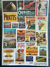 Becc Vintage Advertising Signs 1:24 - Flags and Decals