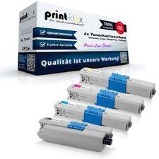 4x Office compatibili CARTUCCE TONER PER OKI c301dn c321dn MC Print line