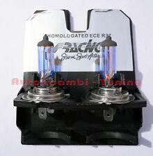 KIT 2 LAMPADE EFFETTO XENON LUCE BIANCA 12V 55W H7 6000K HID STYLE SIMONI RACING