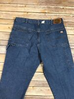 Red Kap Relaxed Fit Jeans Stonewashed Carpenter Denim Work Uniform PD24DN