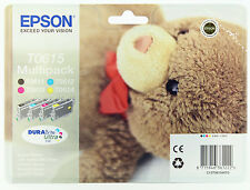 Epson Genuine T0615 T611 Multipack Ink for D68 D88 DX4200 DX3800 BLACK COLOUR NB