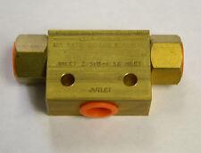 """NEW KEPNER BRASS SHUTTLE AIR VALVE 2456B-1 XB 3/8"""" NPT"""