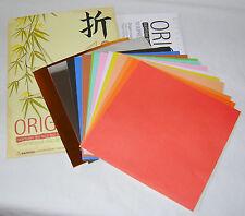Nouveau plier votre propre set Origami faire 10 modèles comprend des instructions et papier HOM