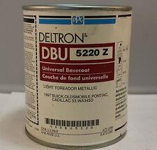 PPG Deltron Universal Basecoat paint DBU 5220 Light Toreador Metallic pint