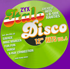 "CD zyx italo disco 12"" Hits vol.4 de various artists 2cds"