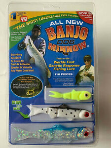 Banjo Minnow 006 - 110 Piece Fishing Soft Plastic Fishing Lures Sett