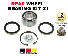 FOR SUBARU JUSTY HATCHBACK 1995-2003 NEW REAR WHEEL BEARING KIT X1