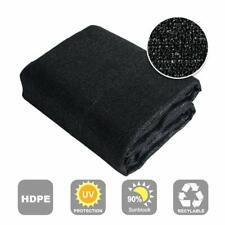 Shatex 90% Sunblock Shade Panel Sun Shelter Patio Shade 8x15ft Privacy Fence Bk