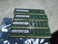 New listing 4 Samsung 16Gb 2Rx4 Pc3-14000R-13-12-E2-D4 M393B2G70Db0-Cma Server Memory Ram