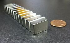 "10 Neodymium N45 H Block Magnets Strong Rare Earth 3/4"" x 1/2"" x 5/16"""