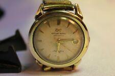 RARE Vintage Ernest Borel Datoptic Incastar  10kGR Working Wristwatch.
