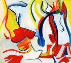 Willem de Kooning Rider Untitled VII 1985 Limited Edition Giclee Art Print