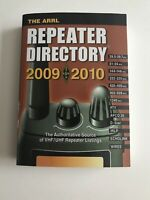 The ARRL Repeater Directory 2009-2010 Pocket size Excellent Condition~Ships Free