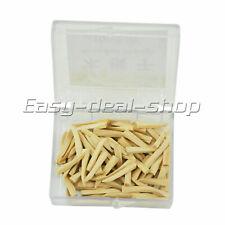 100pcs Dental Natural Interdental Wooden Wedges Middlelarge Size Wedge Easy
