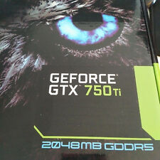 Gigabyte NVIDIA GeForce GTX750 Ti 2GB DDR5 OC GV-N75TOC-2GL PCI-E Video Card DVI