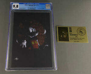 Disney Comics & Stories #13 CGC 9.8 Dell'Otto Gold Foil Virgin Mickey Mouse