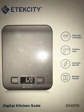 Etekcity EK6015 Small Digital Food Scale - Stainless Steel