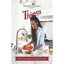 Young Living Essential Oils Thieves Brochure Booklet New