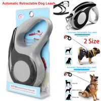 Automatic Retractable Dog Leash Pet Collar Walking Lead Traction Rope Supply USA