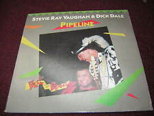Stevie Ray Vaughan Promo 12 Inch Lp Pipeline 1987 Dick Dale