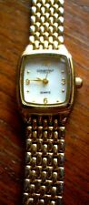 Constant Ladies Gold Plated Mother of Pearl Dial Watch CT0018