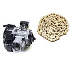 Pocket Rocket Scooter Moped Engine Motor 47cc 49cc Go kart ATV + 25H Chain su