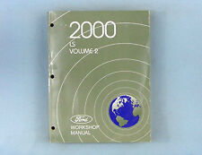 Workshop Manual, 2000 Lincoln LS, Vol. 2, Electrical/Body/Paint, FCS-12872-00-2