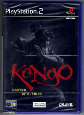 PS2 Kengo: Master of Bushido (2001), UK Pal, Brand New & Sony Factory Sealed