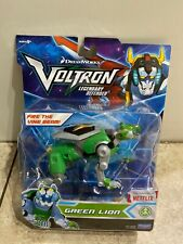 "VOLTRON Legendary Defender Green Lion 6"" Action Figure Dreamworks Playmates"