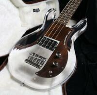 Electric Bass Guitar Dan Style Acrylic Bass Guitar Body Rosewood Pickguard