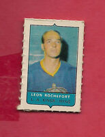 RARE 1969-70 OPC  FOUR  ON ONE KINGS LEON ROCHEFORD MINI  CARD