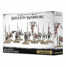 Warhammer Age of Sigmar Vampire Counts Death Rattle Skeleton Warriors Skeletons