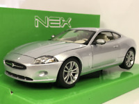 Jaguar XK Coupe Silver 1:24 Scale Welly 22470S  New Boxed