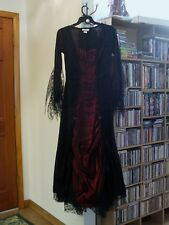 Vampira Vampire Deluxe wedding dress Halloween Costume Medium size worn once