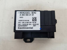 MERCEDES BENZ C E CLASS W204 07-15 FUEL PUMP CONTROL UNIT MODULE A0009003101