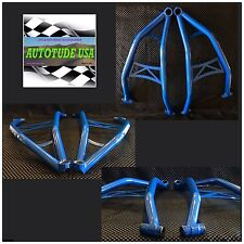EXTREME CLEARANCE ARCHED CHROMOLY LOWER A-ARMS 2015 RZR 4 XP 1000, VOODOO BLUE