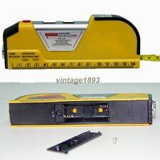 Laser Level Ruler Measuring Tool Measurer Tape Construction Site Craftsman Home